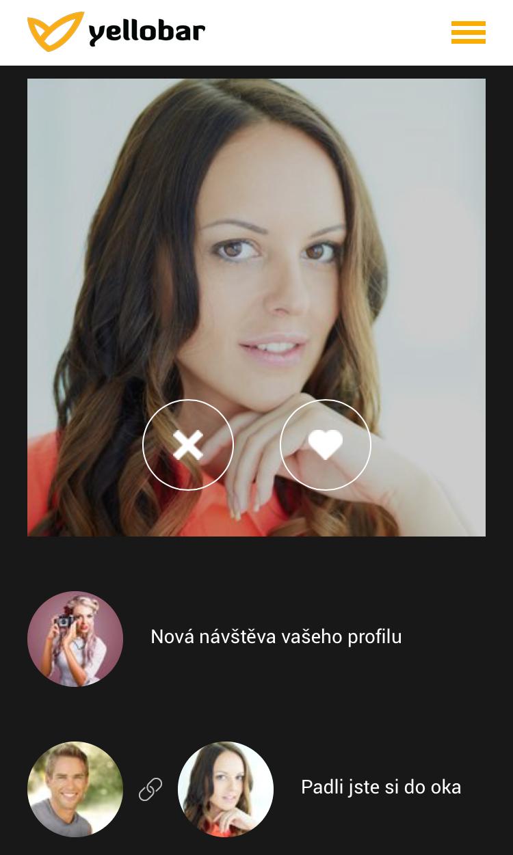 romantický seznamovací profil